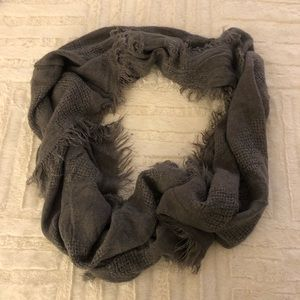 Accessories - Lightweight gray infinity scarf